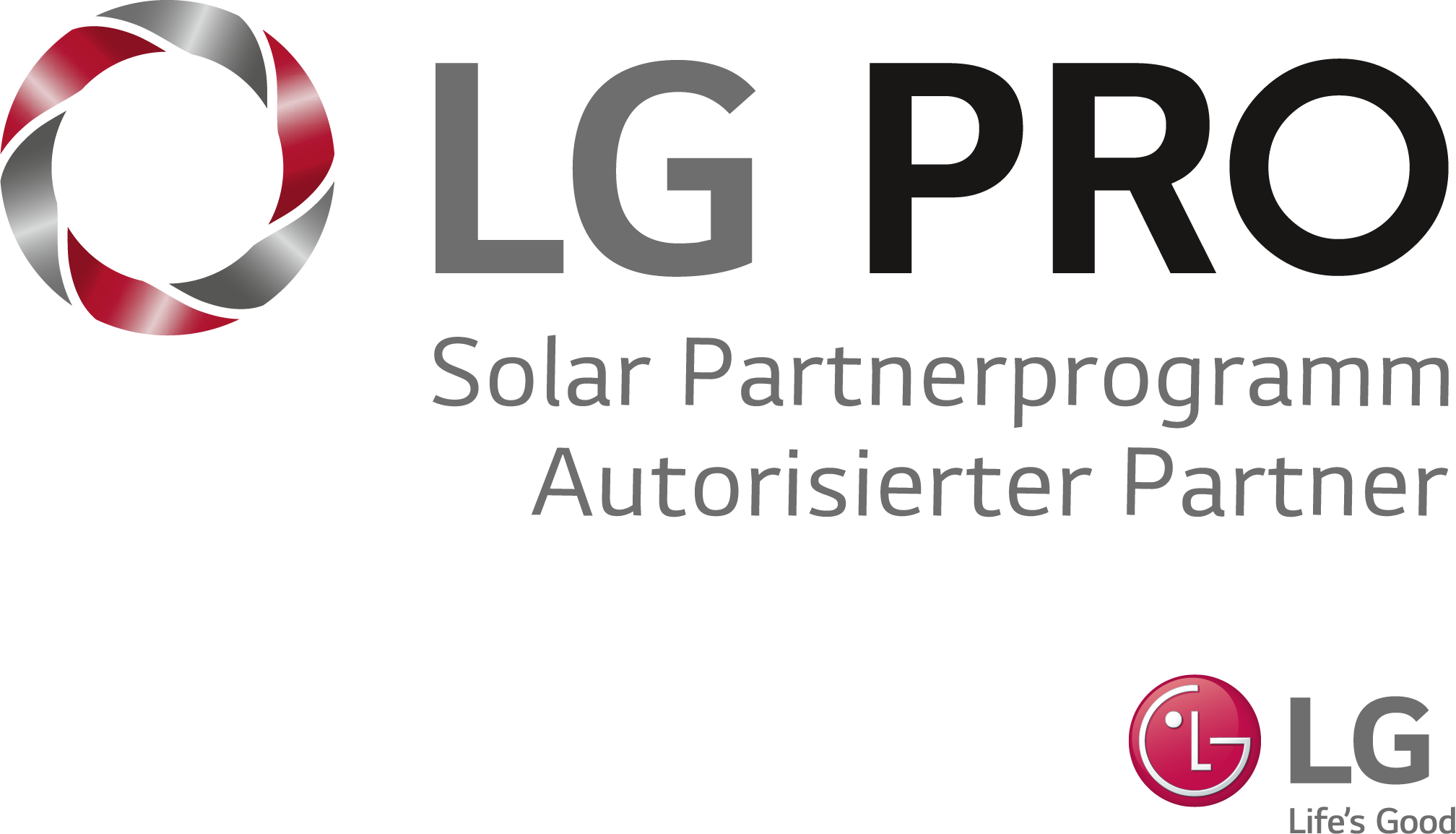 LG PRO - Solar Parterprogramm Autorisieter Partner